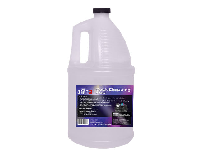 CHAUVET DJ QDF Quick Dissipating Fog Fluid - 1 Gallon