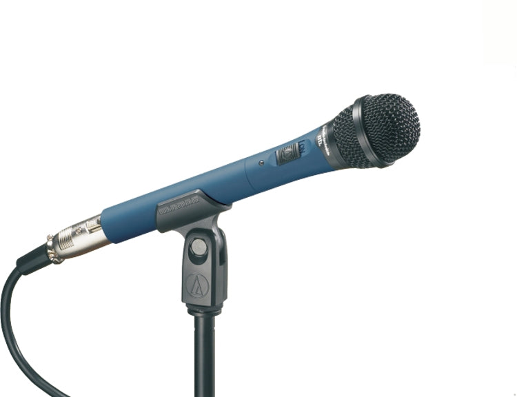 Audio-Technica MB4k/c Midnight Blues Cardioid Condenser Microphone With 15' XLR Cable