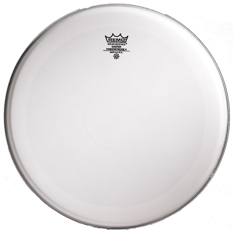 Remo Powerstroke P4 Coated Clear Dot Drum Head