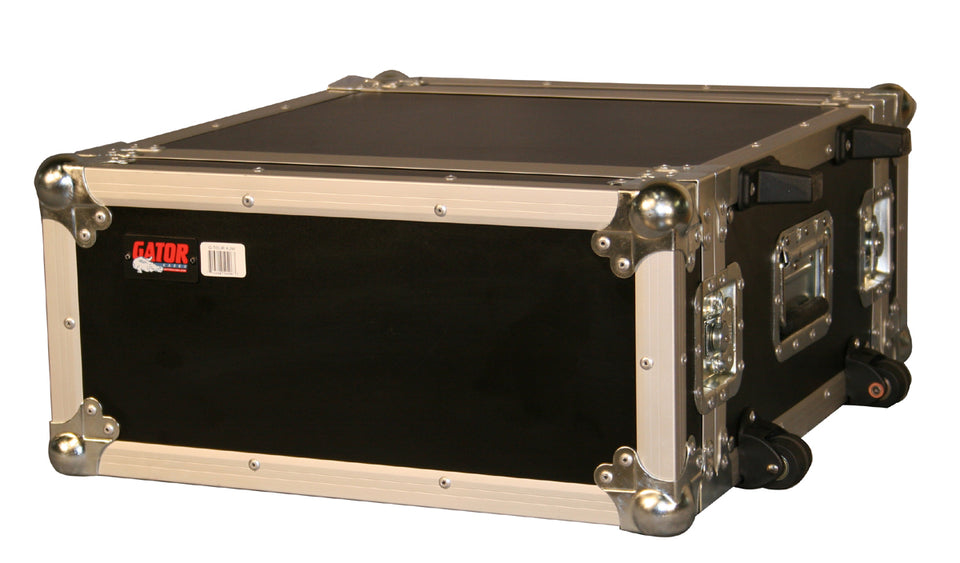 Gator Cases G-TOUR 4UW ATA Wood Flight Rack Case