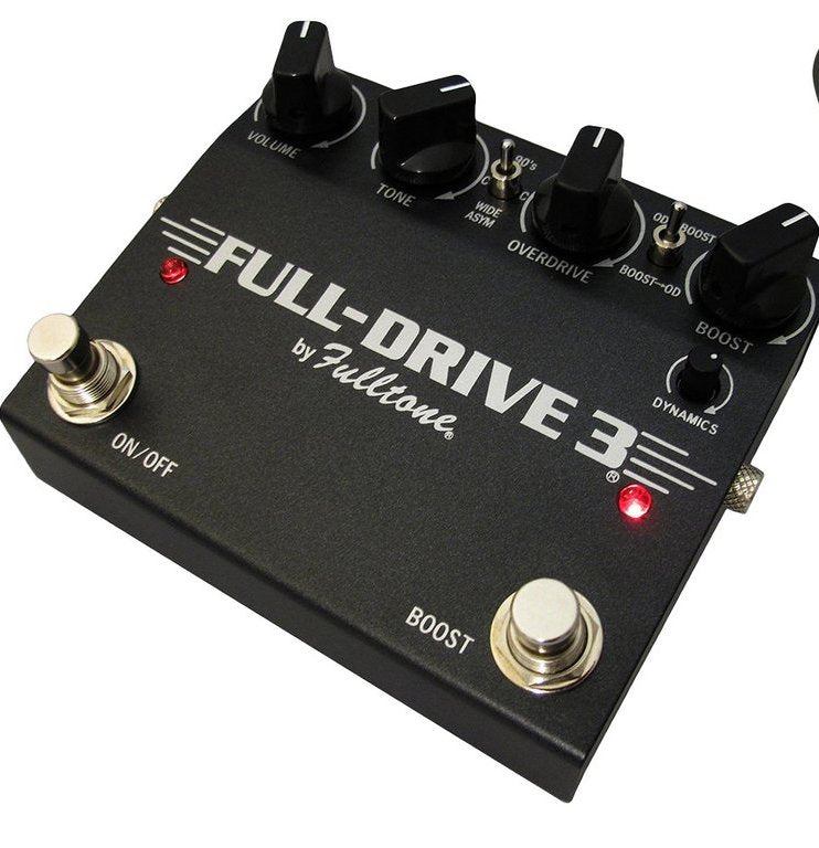Fulltone Fulldrive 3 Overdrive Guitar Effects Pedal