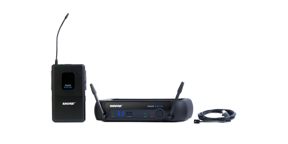 Shure PGXD14/93 Lavalier Wireless System
