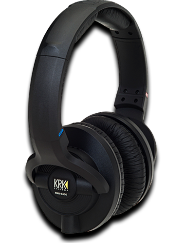 KRK KNS 6400 Closed-Back Circumaural Studio Headphones