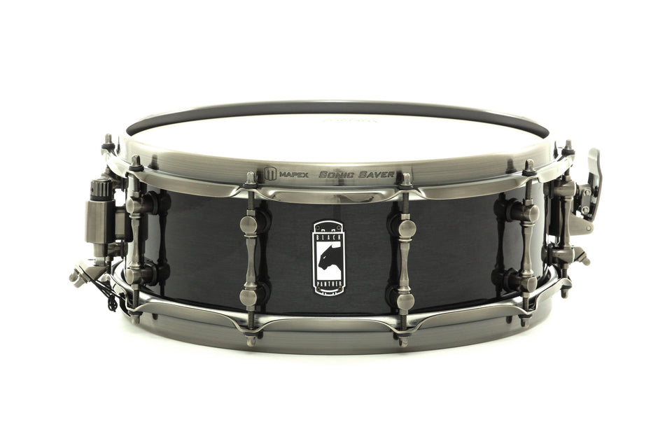 "Mapex 14"" x 5"" Black Panther Series Snare Drum Black Widow"