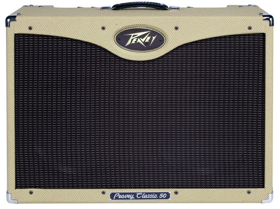 Peavey Classic 50 2x12 Tweed Tube Guitar Combo Amp