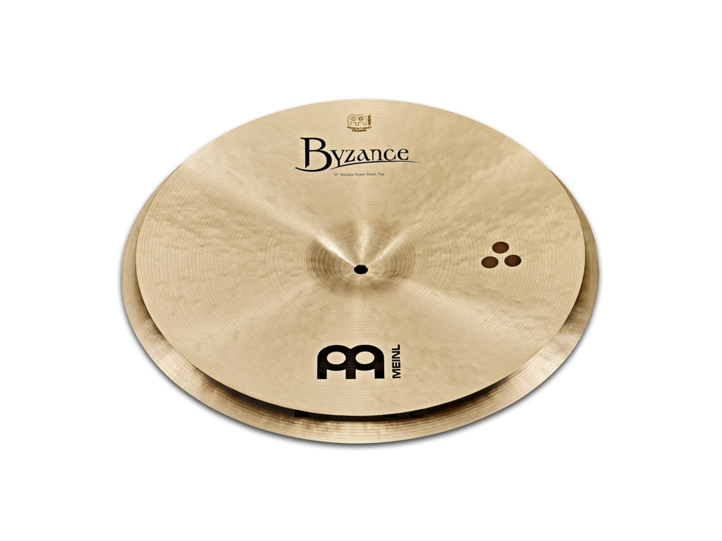 "Meinl Artist Concept Model Matt Halpern Double Down Stack Cymbals - 17""/18"""