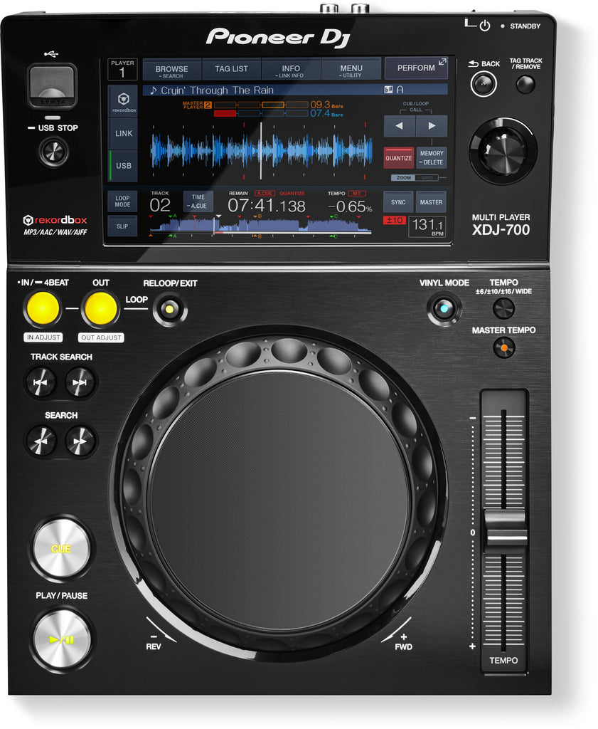 Pioneer XDJ-700 Compact Performance Digital Player
