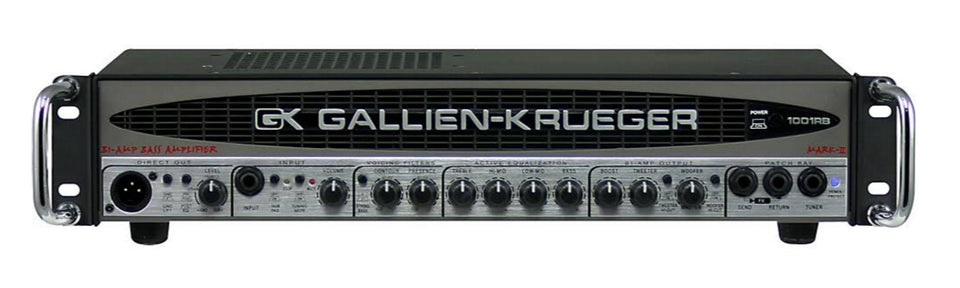 Gallien-Krueger 1001RB-II Bass Amplifier Head