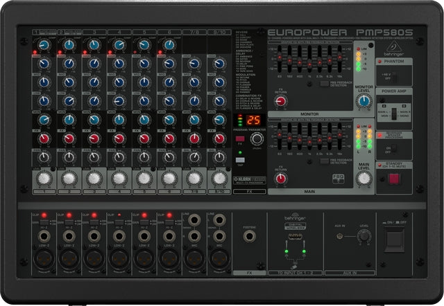 Behringer Europower PMP580S 10 Channel Mixer