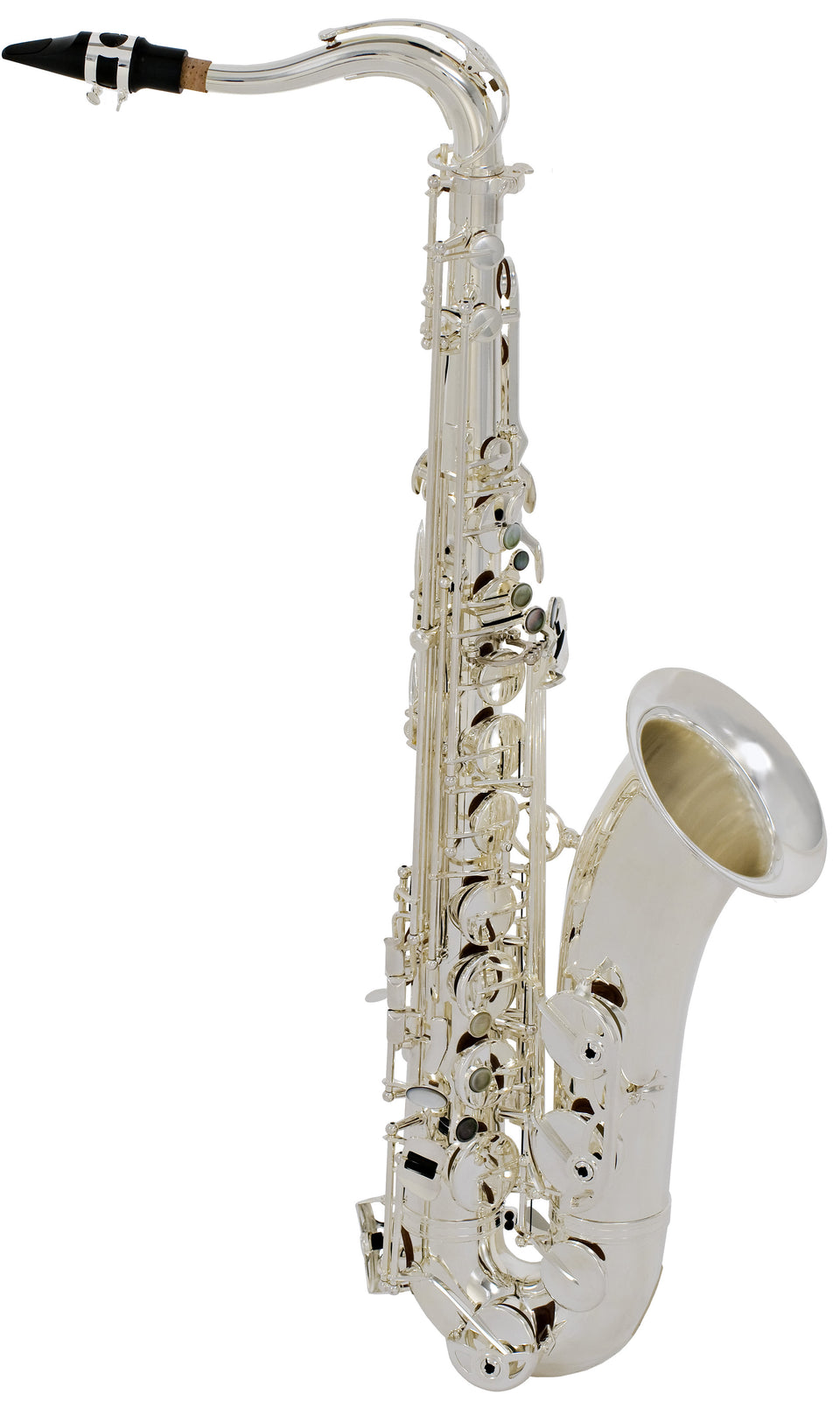 Selmer STS280RS Step-Up Model Tenor Saxophone Outfit, Silver Plated