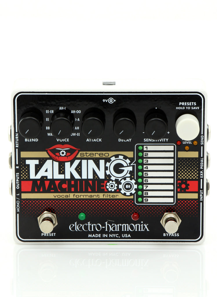 Electro Harmonix STEREO TALKING MACHINE Vocal Formant Filter Pedal