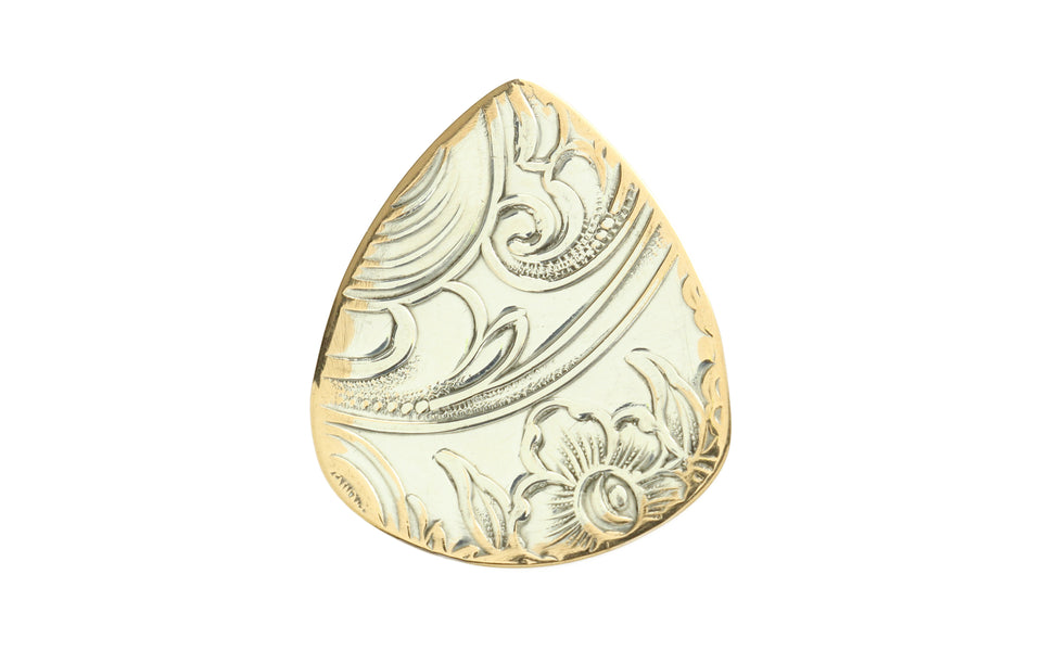 Master Artisan Silver On Brass Guitar Pick
