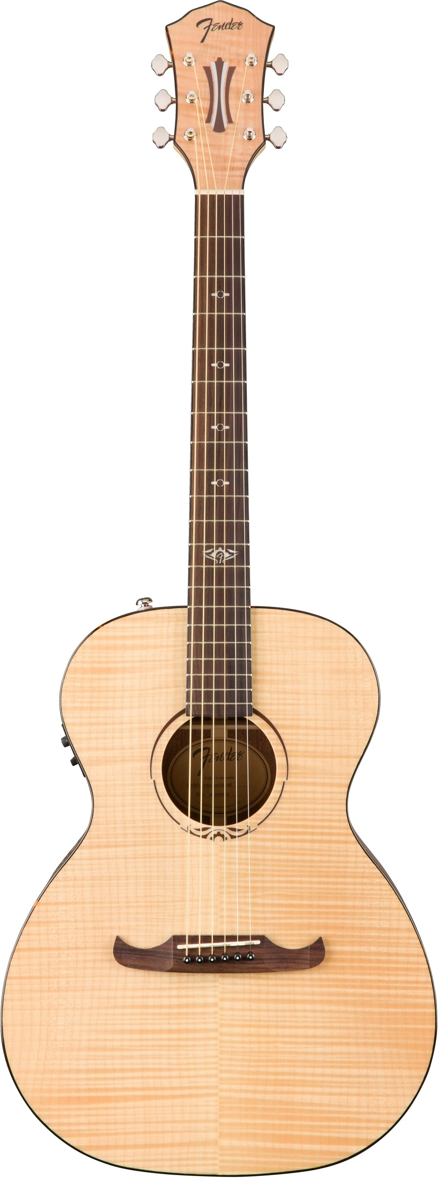 Fender T-Bucket 450-E Acoustic Electric Guitar - Rosewood Fingerboard, Natural