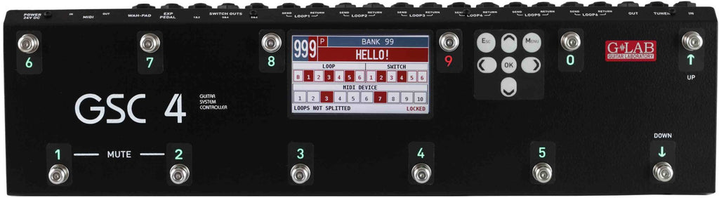 G-Lab GSC-4 Guitar System Controller