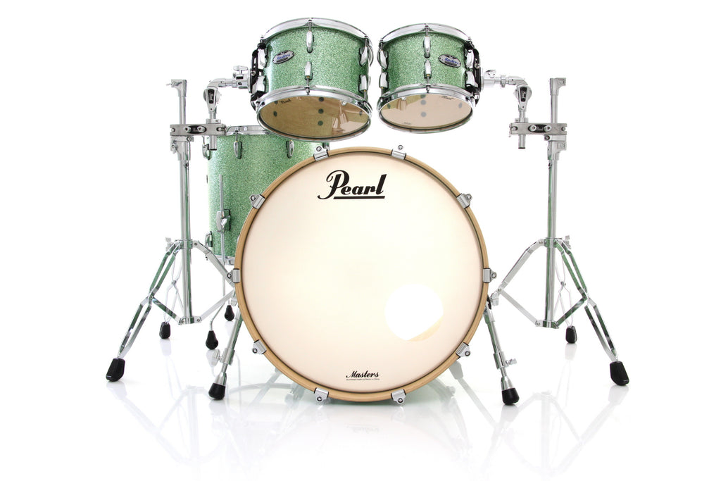 Pearl MCT Masters 4 Piece Drum Set Shell Pack - Absinthe Sparkle