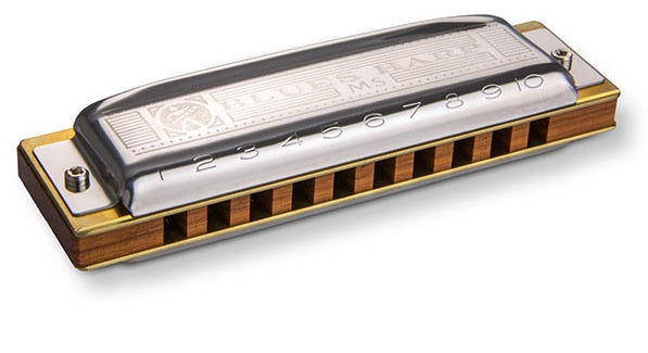Hohner 532BX-C# Blues Harp Harmonica, Key of C Sharp