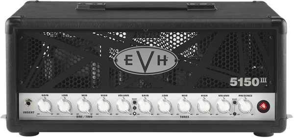 EVH 5150 III 50 Watt Guitar Head - Black