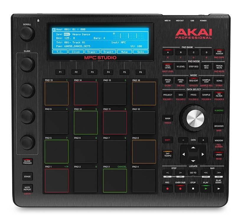 Akai MPC Studio Music Production Controller - Black