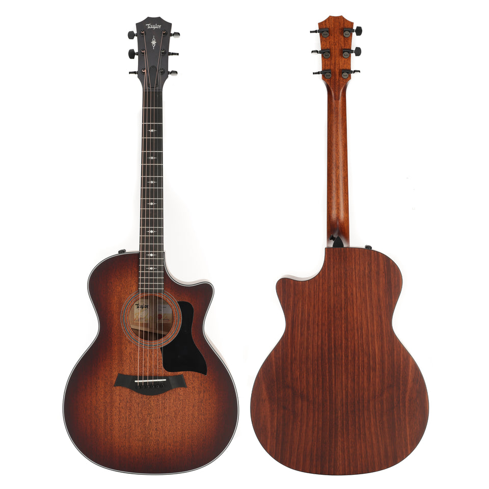 Taylor 324ce V-Class Grand Auditorium Acoustic Electric Guitar - Shaded Edge Burst