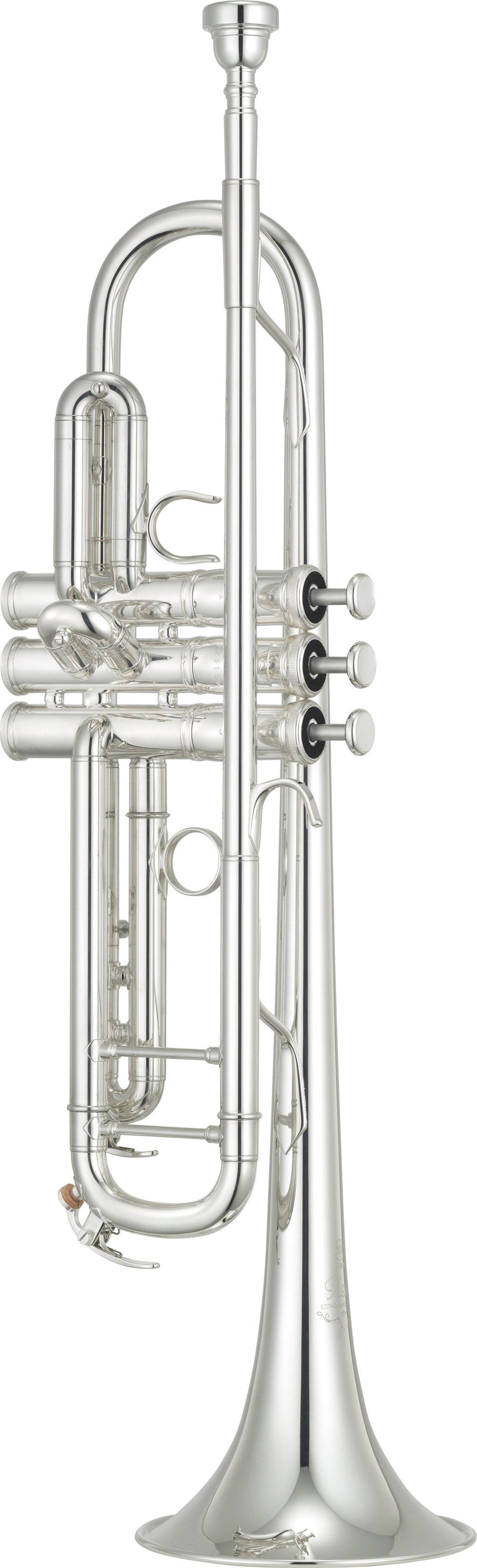 Yamaha YTR-8345IIGS Xeno Model Silver-Plated Trumpet W/ Gold-Brass Bell