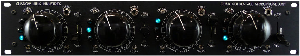 Shadow Hills Quad Gamma 4 Channel Mic Preamp