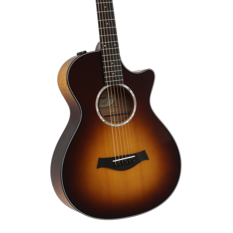 Taylor 412ce 12-Fret LTD Cutaway Acoustic Electric Guitar - Tobacco Sunburst