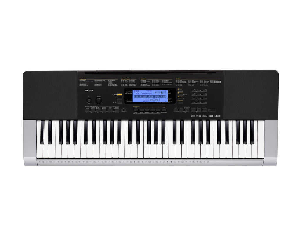 Casio CTK-4400 Touch Sensitive 61-Key Keyboard