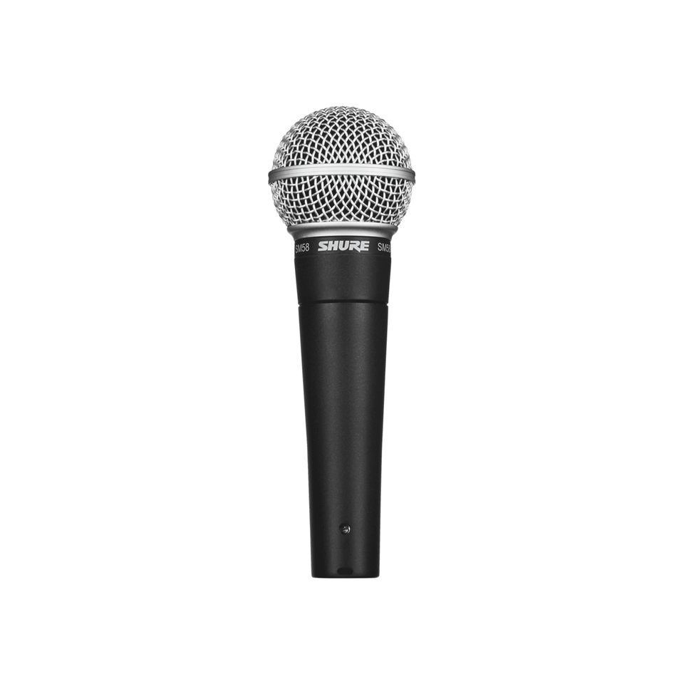 Shure SM58-LC Dynamic Live Vocal Microphone