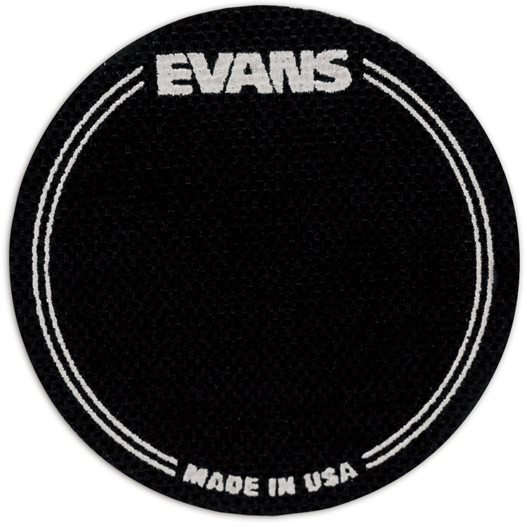Evans Black Nylon Single Bass Drum Patches -2