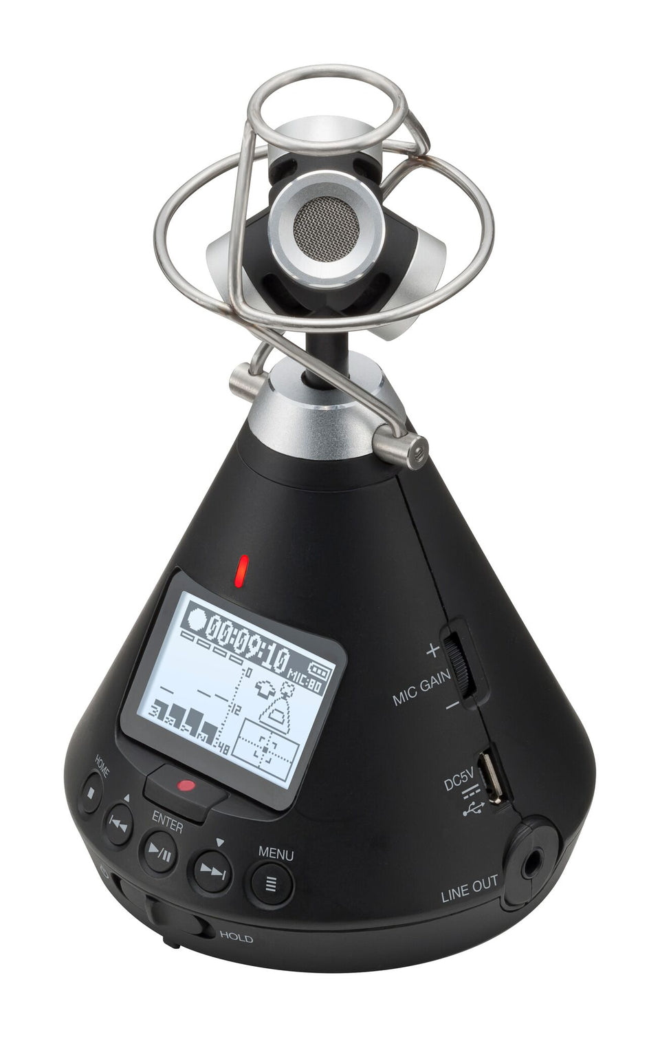Zoom H3-VR 360-Degree VR Audio Recorder