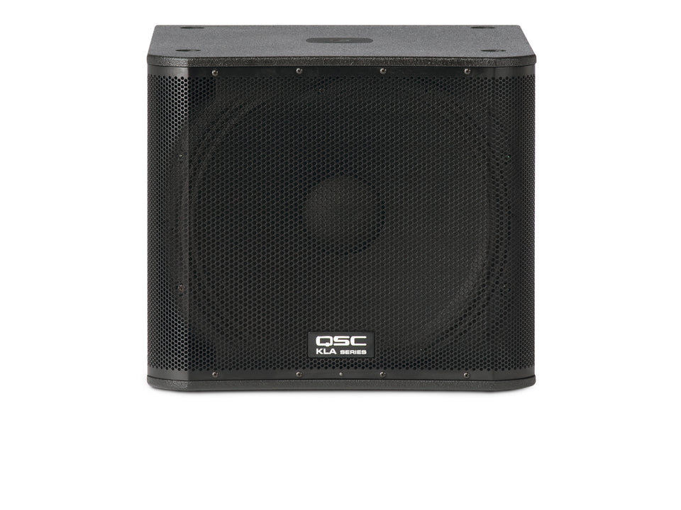 "QSC KLA181BK 18"" 1000 W/ Powered Subwoofer"