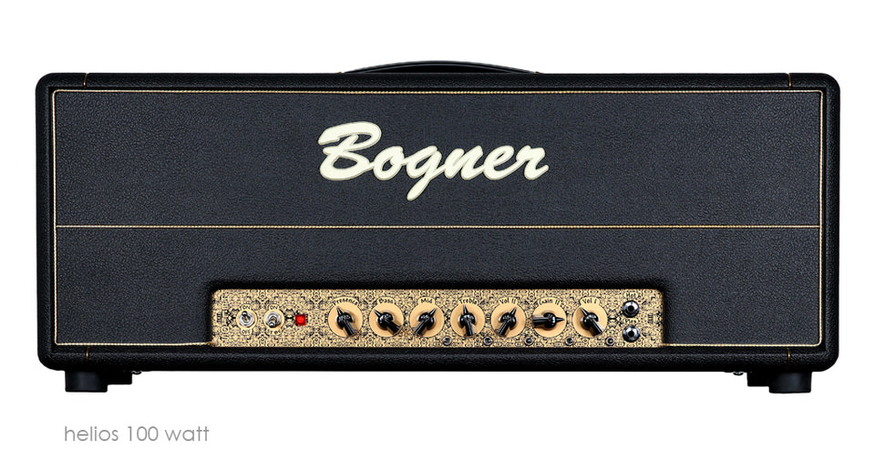 Bogner Helios 100W Handwired Guitar Amplifier Head
