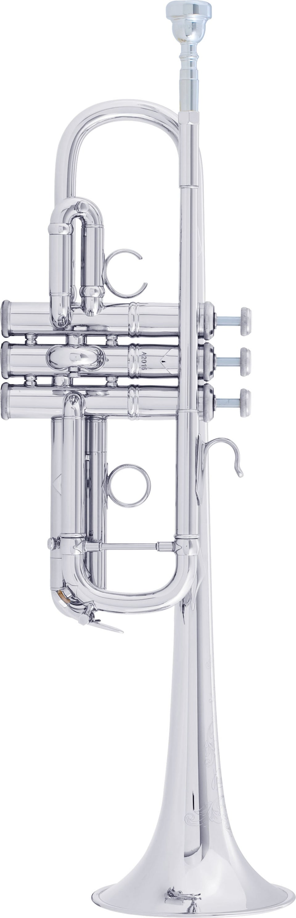 Bach AC190S Stradivarius Artisan C Trumpet Outfit - Silver Plated