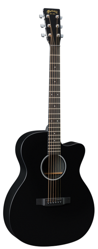 Martin OMCXAE Black Cutaway Acoustic Electric Guitar