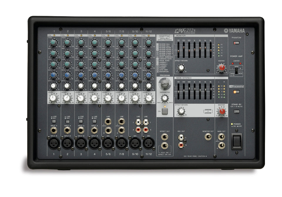 Yamaha EMX212S 12 Input Powered Mixer