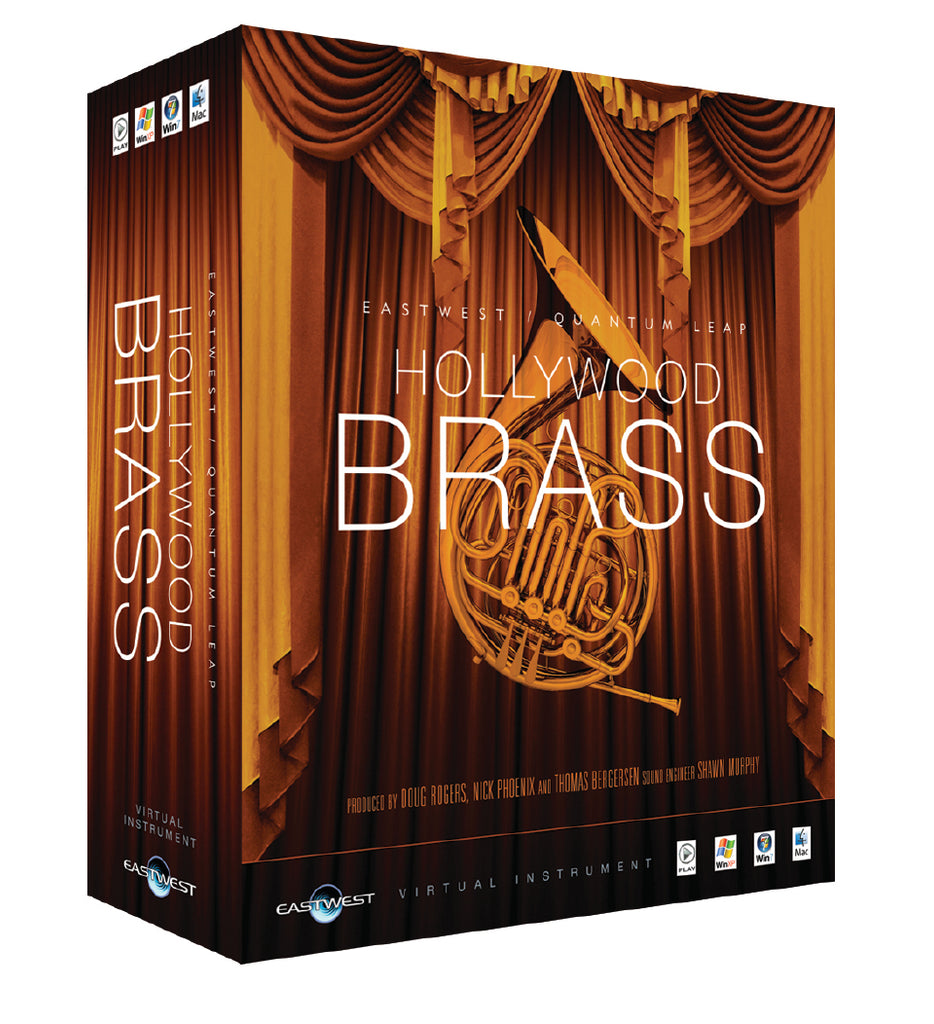 EastWest Hollywood Brass - Gold