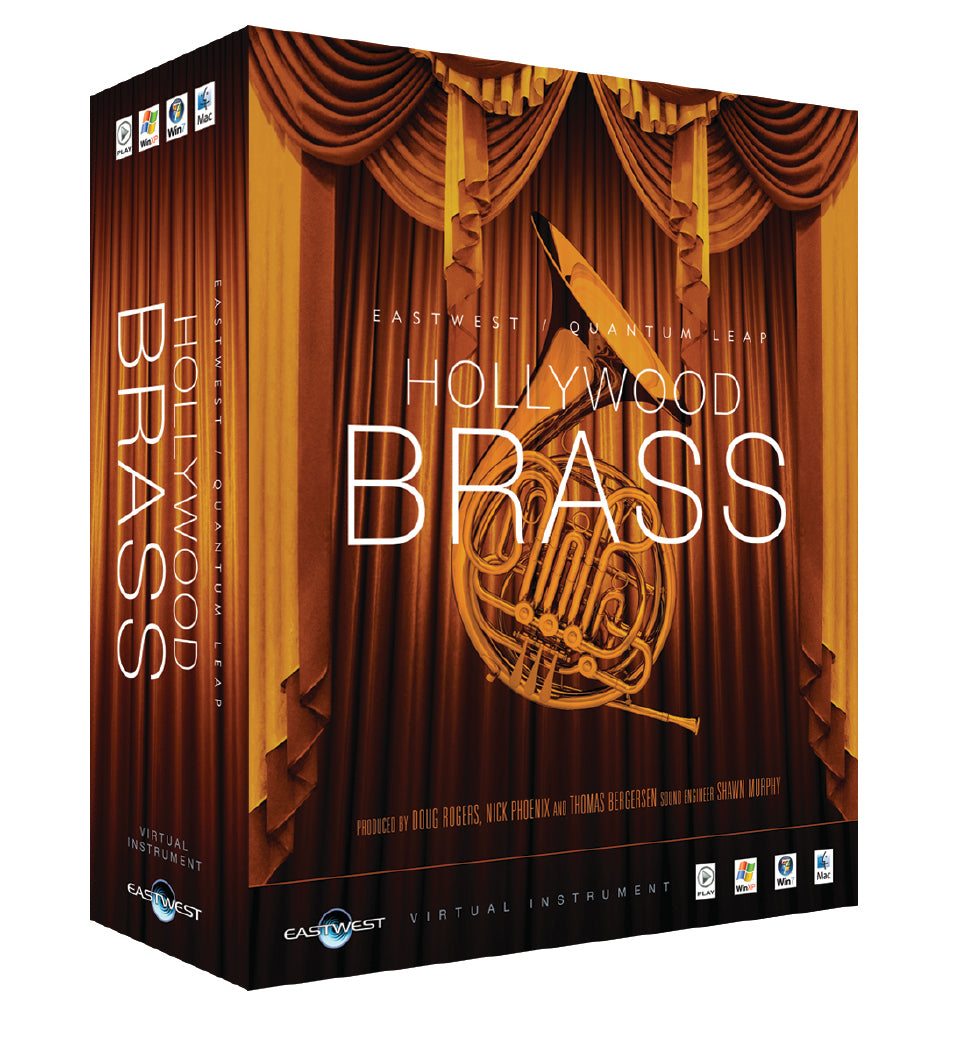 EastWest Hollywood Brass - Silver