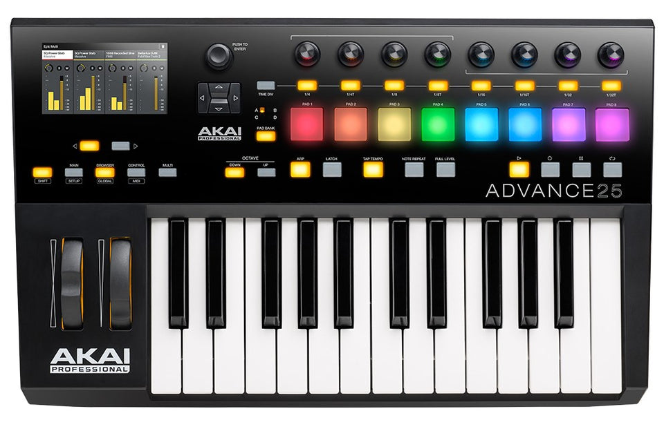 Akai Advance 25 Keyboard