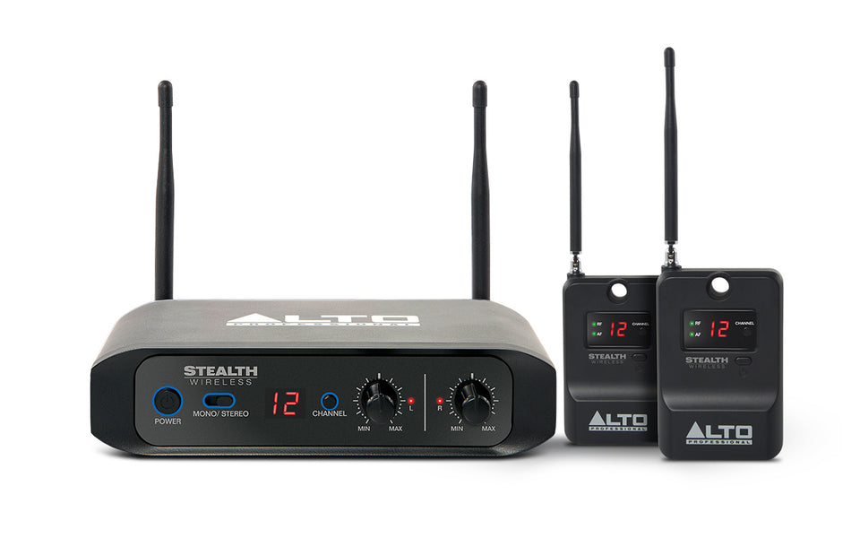 Alto Stealth Stereo Wireless System
