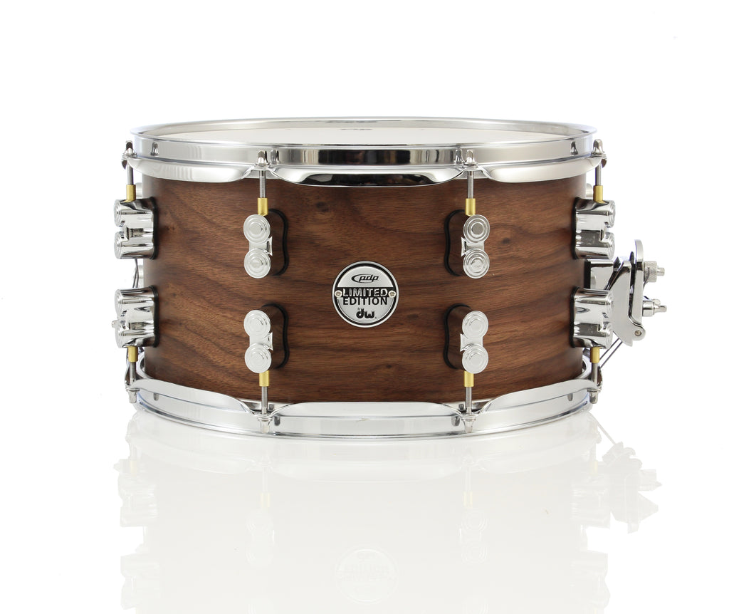 "PDP 13"" x 7"" Limited Edition 20 Ply Snare Drum - Maple/Walnut Natural Satin"
