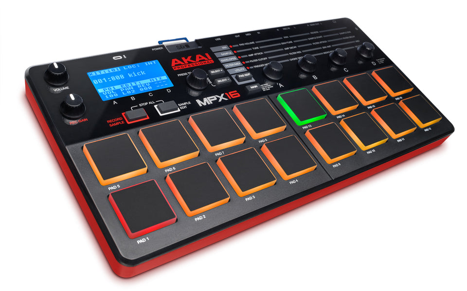 Akai MPX16 Pad Controller And Sampler