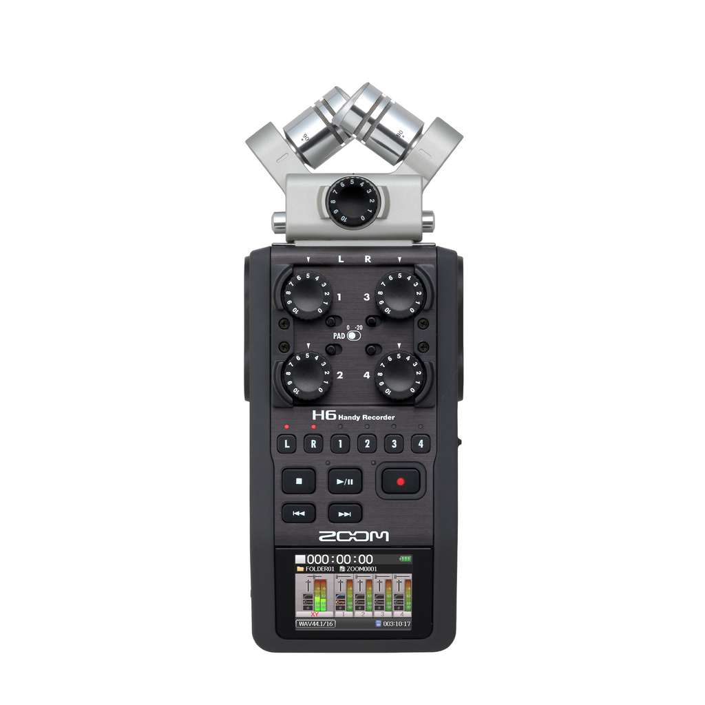Zoom H6 Handy Portable Audio Recorder