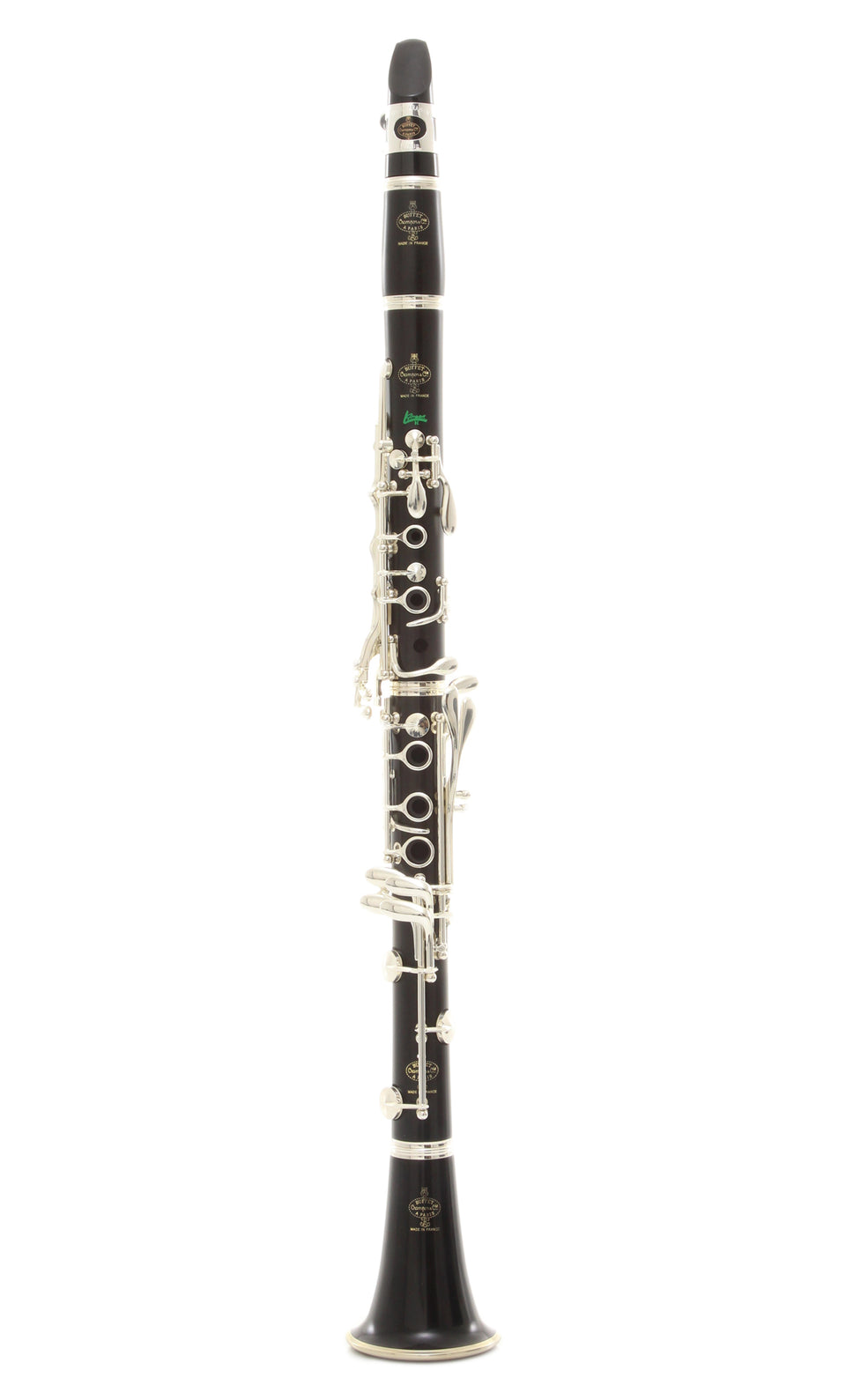 Buffet Crampon R13 Green Line B-Flat Clarinet - Nickel Plated Keys