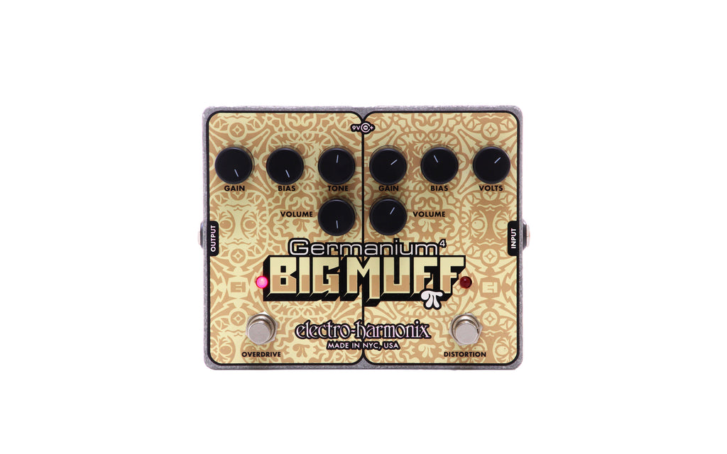 Electro Harmonix Germanium 4 Big Muff Pi Overdrive/Distortion Pedal