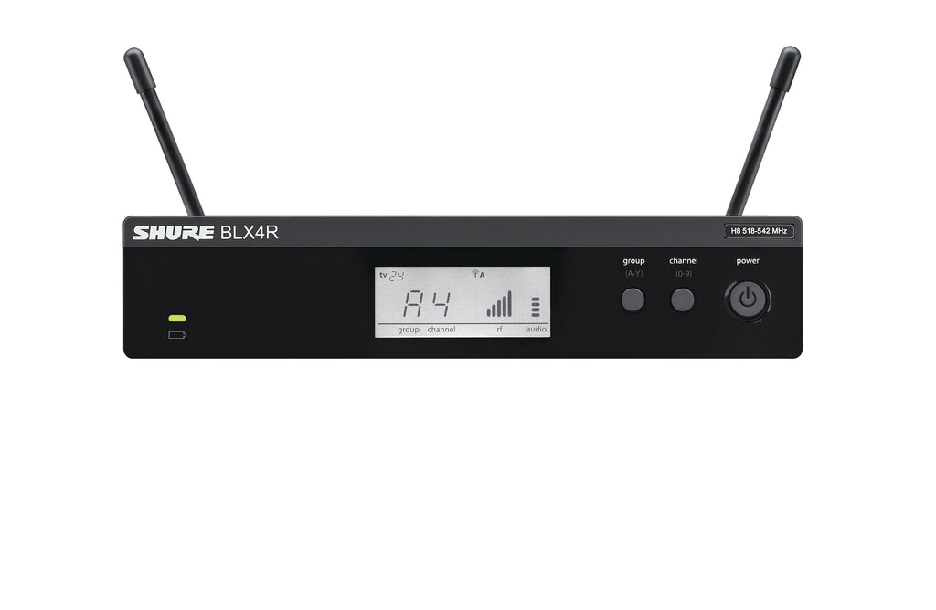 Shure BLX4R Rack Mount Receiver - H9 Frequency Band