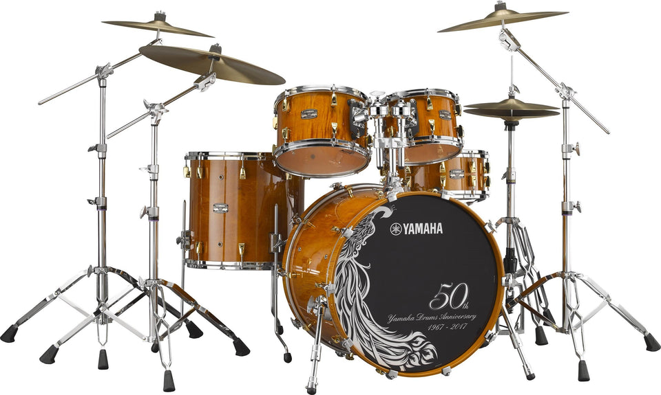 "Yamaha 50th Anniversary Drum Shell Pack w/ 22"" Kick"