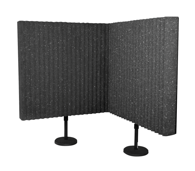"AURALEX ACOUSTICS DESKMAX Sound Absorption Panel (Set Of 2) - 3"" x 24"" x 24"""