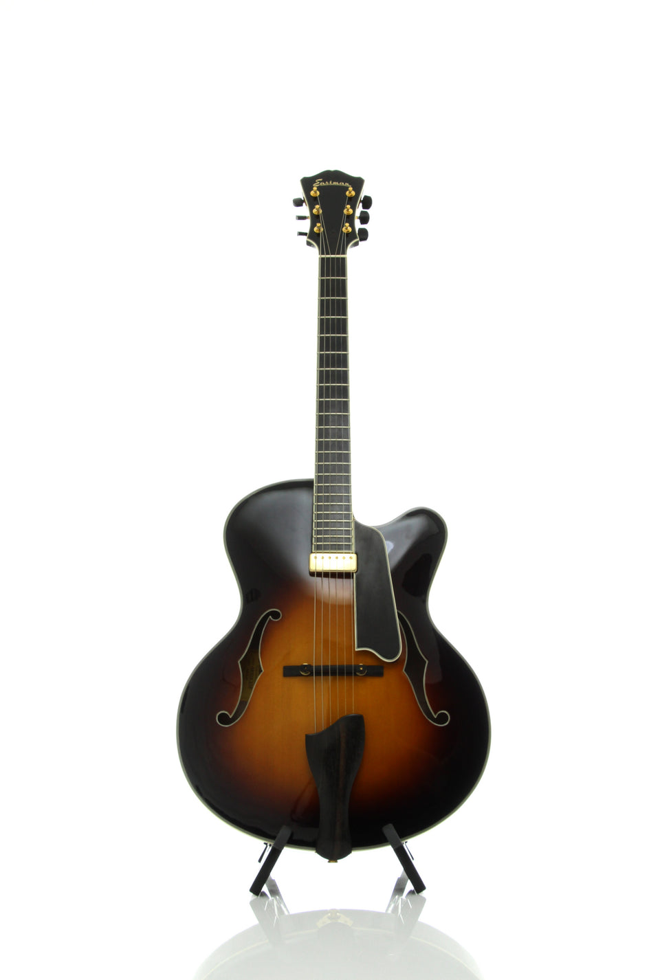 Eastman AR810CE-SB Archtop Electric Guitar - Ebony Fingerboard, Sunburst