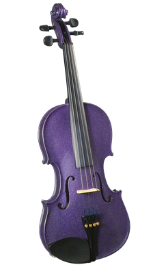 Cremona SV-130PP 42098 Violin Oufit in Purple 4/4