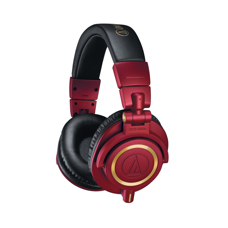 Audio Technica ATH-M50xRD Professional Monitor Headphones - Red